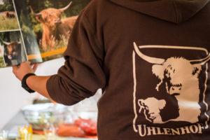 Beim Sommerfest des Uhlenhof in Asperden